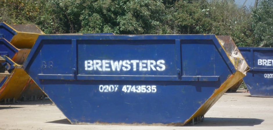 Call us on 020 7474 3535 for Skip Hire Services in London - Brewsters Waste Management
